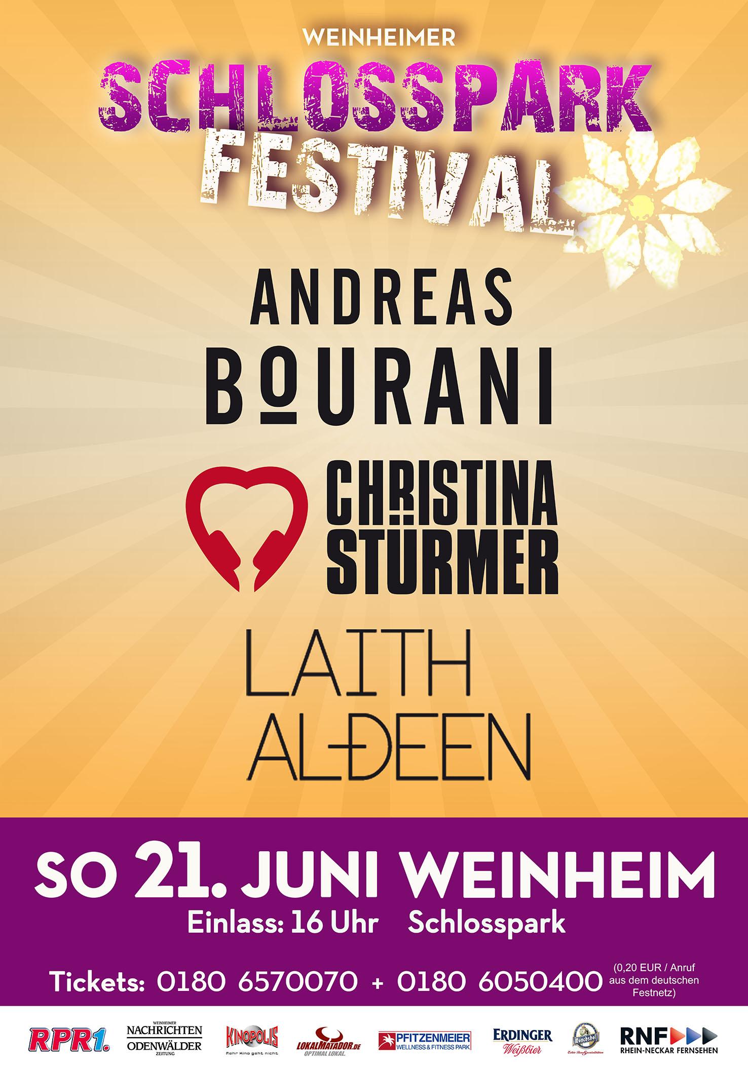 Weinheimer Schlossparkfestival