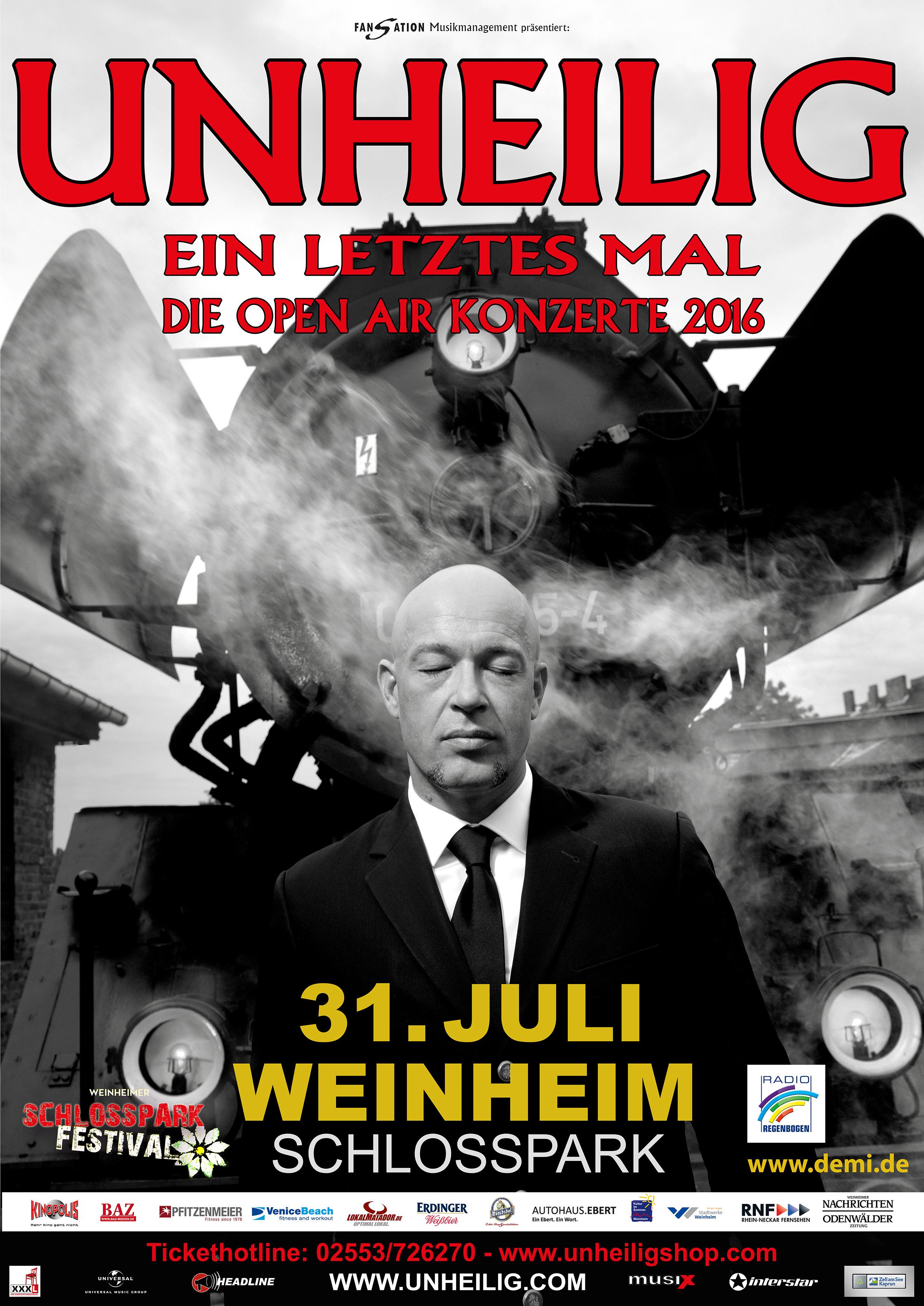 Unheilig · Weinheim