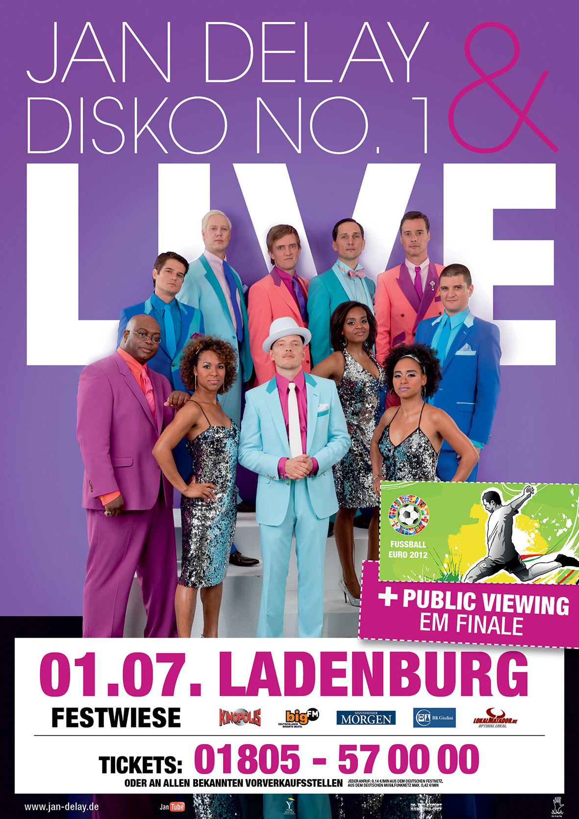 Jan Delay & Disko No.1 · Ladenburg