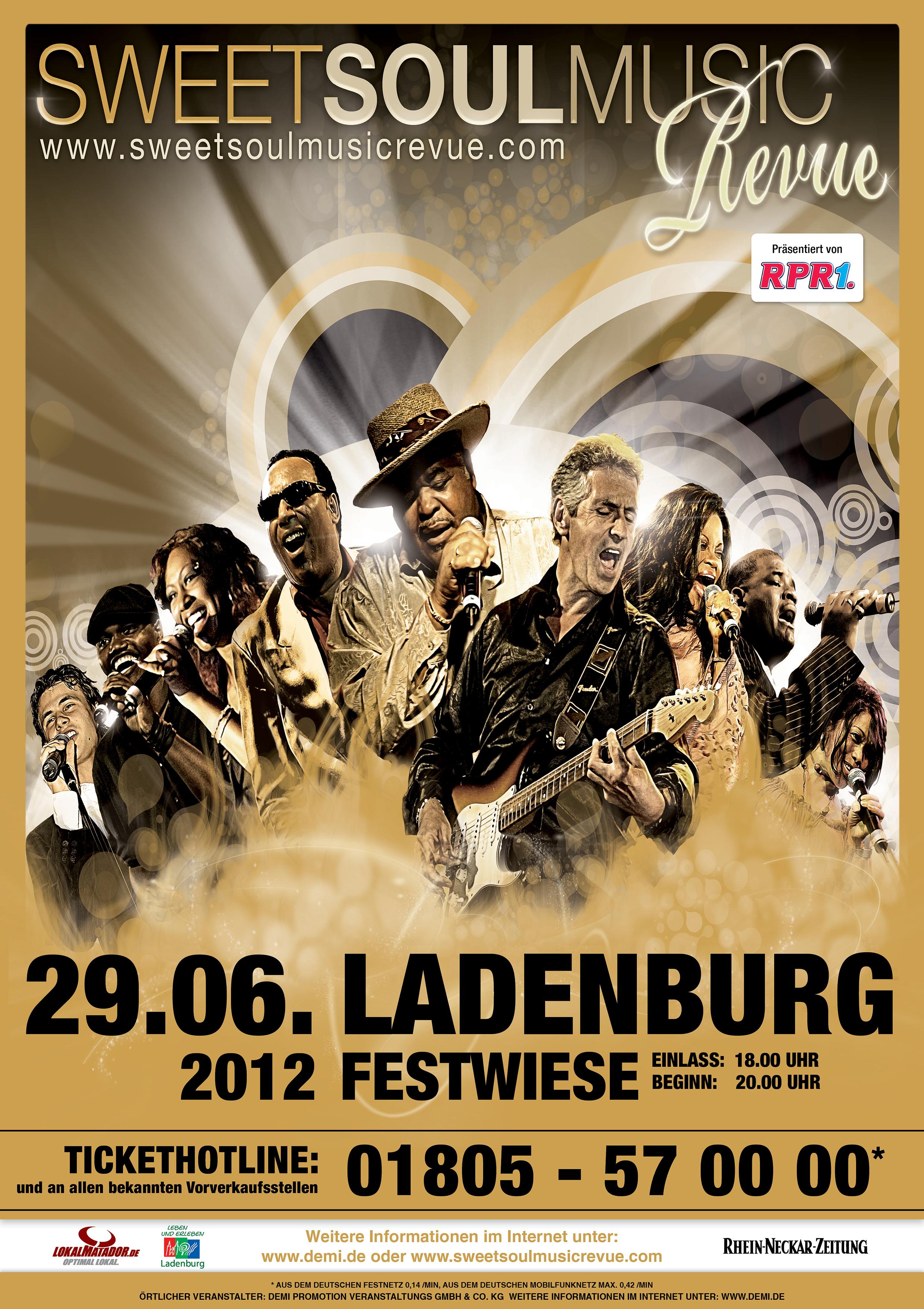 Sweet Soul Music Revue • Ladenburg
