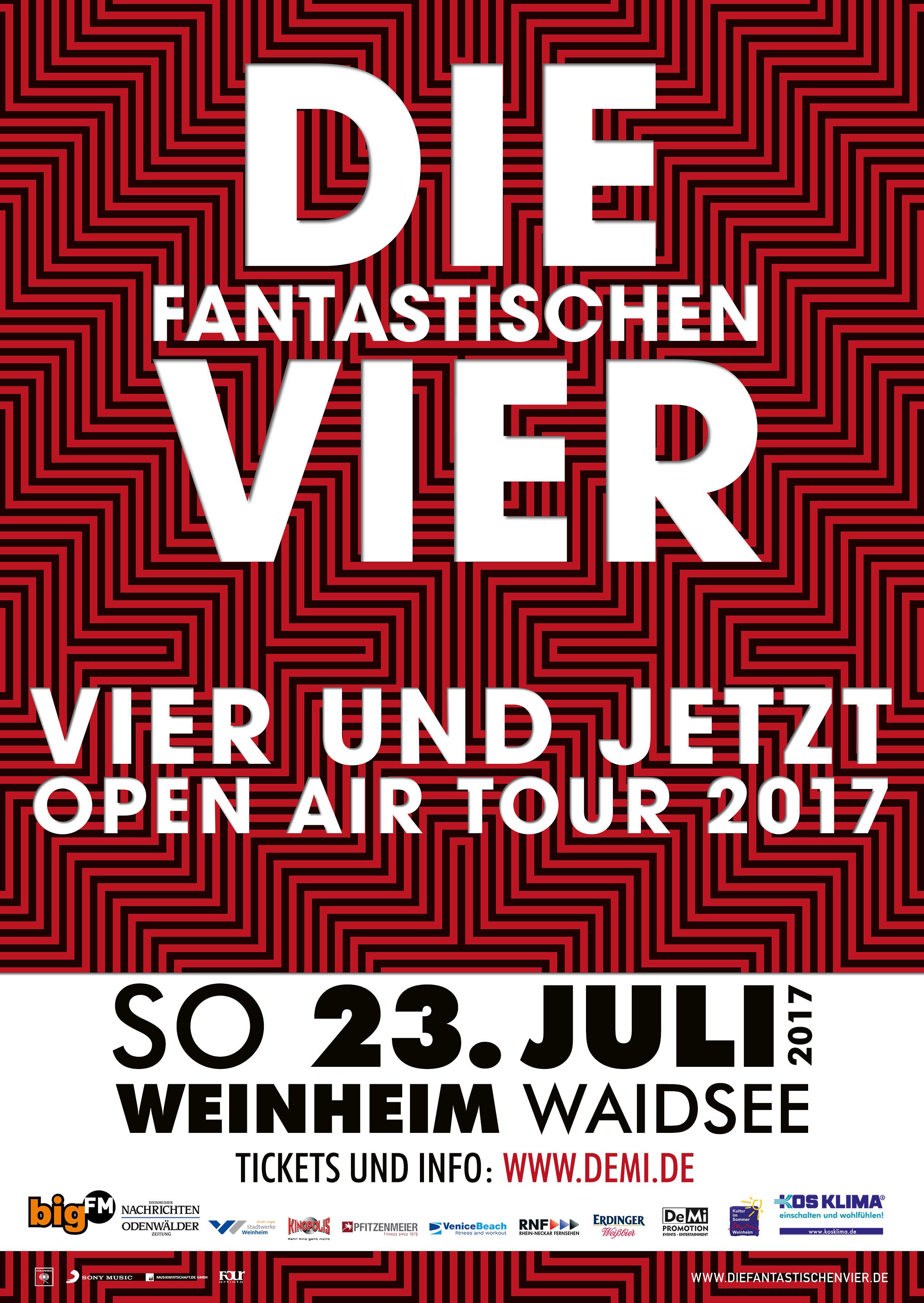 Die Fantastischen Vier • Weinheim