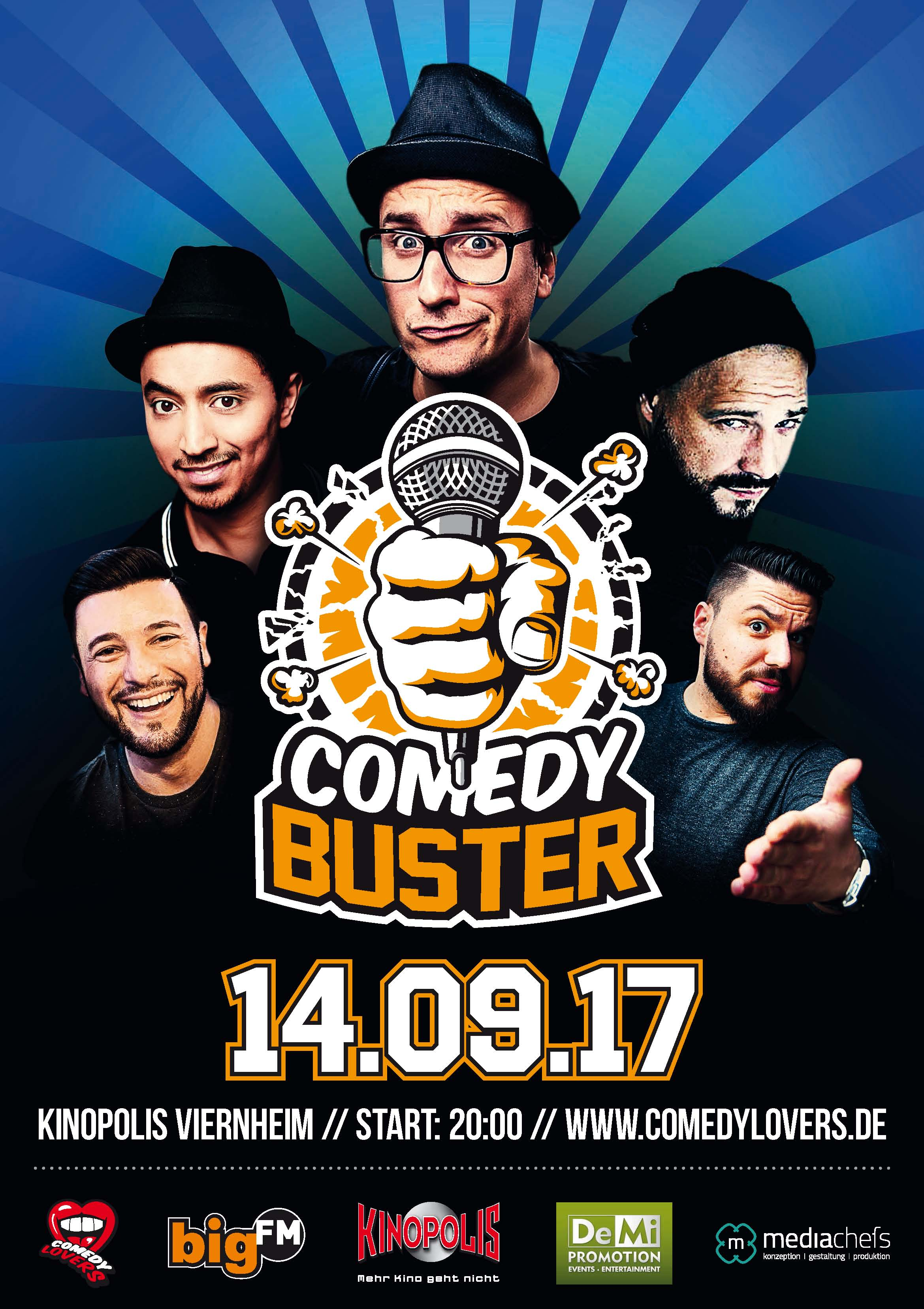 Flyer_Plakat_ComedyBuster