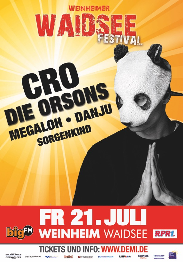 CRO & Co.  @Weinheimer Waidseefestival