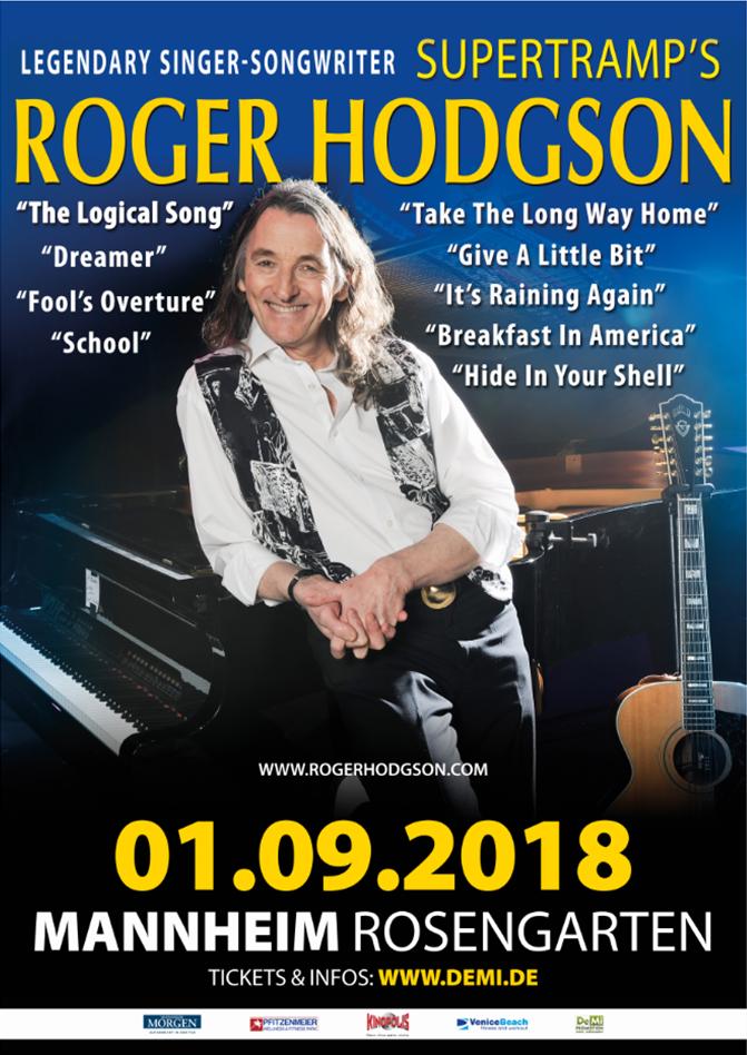 ROGER HODGSON • MANNHEIM