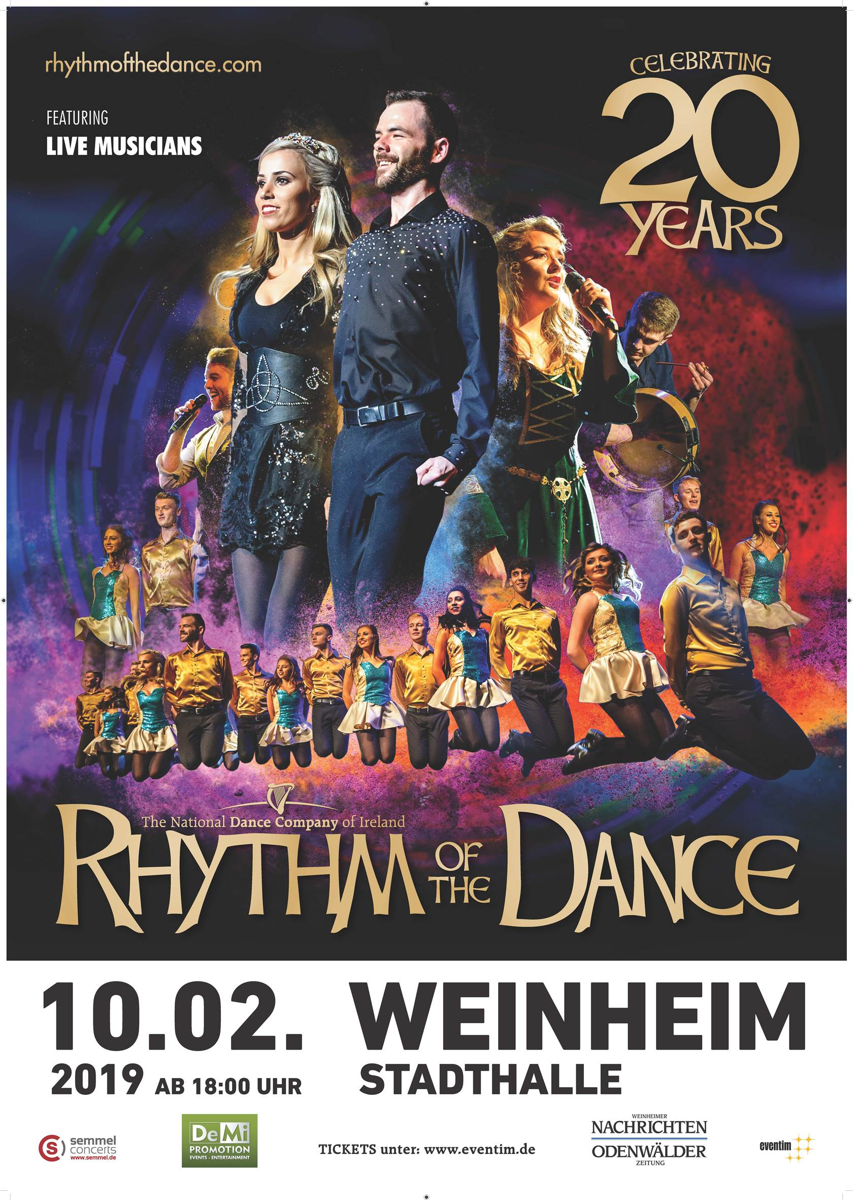 RHYTHM OF THE DANCE • WEINHEIM
