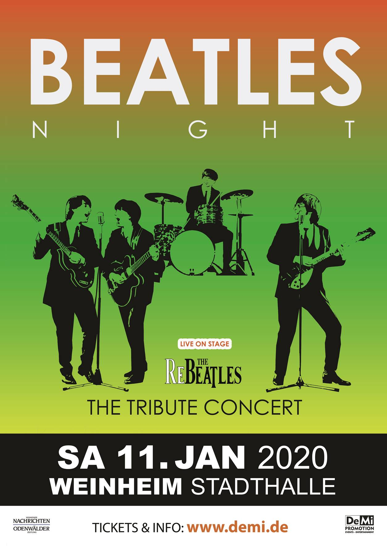 Beatles Night • Weinheim