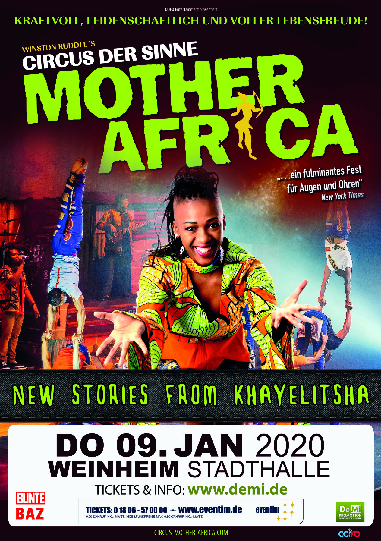 CIRCUS MOTHER AFRICA – New Stories From Khayelitsha 2020 • Weinheim